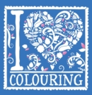 I Heart Colouring : Pretty Pocket Colouring - Book