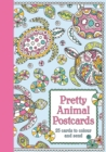 Pretty Animal Postcards - Book