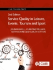 Service Quality in Leisure, Events, Tourism and Sport - Book