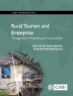 Rural Tourism and Enterprise : Management, Marketing and Sustainability - Book