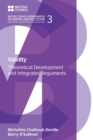 Validity : Theoretical Development and Integrated Arguments - Book