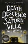 Death Descends on Saturn Villa - Book