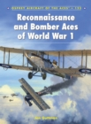 Reconnaissance and Bomber Aces of World War 1 - Book