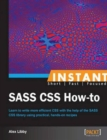 Instant SASS CSS How-to - Book