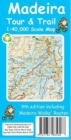 Madeira Tour & Trail Paper Map - Book