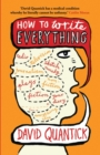 How to Write Everything - Book