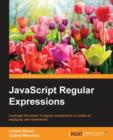 JavaScript Regular Expressions - Book