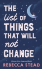 The List of Things That Will Not Change - Book