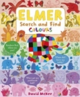 Elmer Search and Find Colours - Book