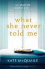 What She Never Told Me : The compelling and critically acclaimed mystery - Book