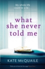 What She Never Told Me : The compelling and critically acclaimed mystery - eBook