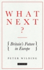 What Next? : Britain's Future in Europe - Book