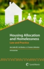 Housing Allocation and Homelessness : Law and Practice - Book