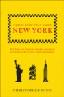 I Never Knew That About New York - Book