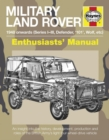 Military Land Rover Manual - Book