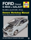 Ford S-Max & Galaxy Diesel (Mar '06 - July '15) 06 To 15 - Book