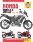 Honda CB500F/X & CBR500R ('13 To '15) - Book