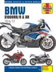 BMW S1000RR/R & XR Service & Repair Manual (2010 to 2017) - Book