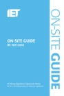 On-Site Guide (BS 7671:2018) - Book