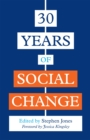 30 Years of Social Change - Book