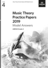 Music Theory Practice Papers 2019 Model Answers, ABRSM Grade 4 - Book