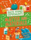 Simple Science Experiments: Matter and Materials - Book