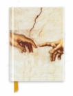 Michelangelo: Creation Hands (Foiled Journal) - Book