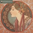 Alphonse Mucha - mini wall calendar 2018 (Art Calendar) - Book