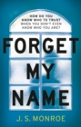 Forget My Name - Book