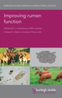 Improving Rumen Function - Book