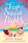 Those Summer Nights - Book