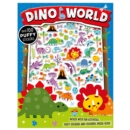 Dino World Puffy Sticker Activity Book - Book