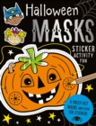 Halloween Masks Sticker Activity Fun - Book