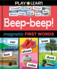 Beep-Beep! Magnetic First Words - Book