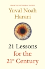 21 Lessons for the 21st Century - Book