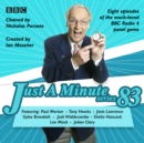 Just a Minute: Series 83 : The BBC Radio 4 comedy panel game - eAudiobook