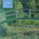 Adult Jigsaw Puzzle National Gallery Monet: Bridge over Lily Pond : 1000-piece Jigsaw Puzzles - Book