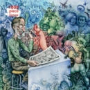 Adult Jigsaw Puzzle R. Crumb: Who's Afraid of Robert Crumb? : 1000-piece Jigsaw Puzzles - Book