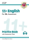 11+ GL English Practice Book & Assessment Tests - Ages 8-9 (with Online Edition) - Book