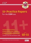 11+ CEM Practice Papers: Ages 10-11 - Pack 2 (with Parents' Guide & Online Edition) - Book
