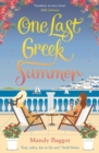 One Last Greek Summer - Book