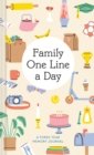 Family One Line a Day : A Three-Year Memory Journal - Book