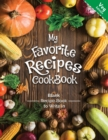 My Favorite Recipes CookBook Blank Recipe Book to Write in Veg Edition : A wonderful book For all the no-meat eater who wants to keep ordered and quickly available their favorite recipe and variation - Book