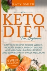 KETO DIET FOR BEGINNERS:  EASY KETO RECI - Book