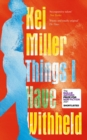 Things I Have Withheld - Book