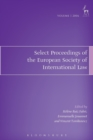Select Proceedings of the European Society of International Law - Book