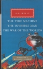The Time Machine, The Invisible Man, The War of the Worlds - Book
