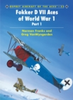Fokker D VII Aces of World War I - Book