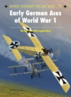 Early German Aces of World War I - Book