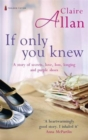 If Only You Knew - Book
